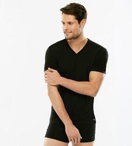 "LVB cotone supima T-shirt ""V"""